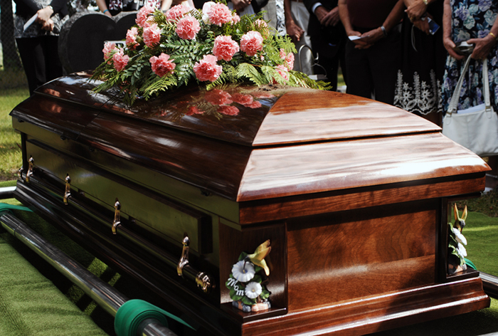 begravningskista